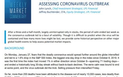 Assessing Coronavirus Outbreak | Weekly Market Commentary | February 3, 2020