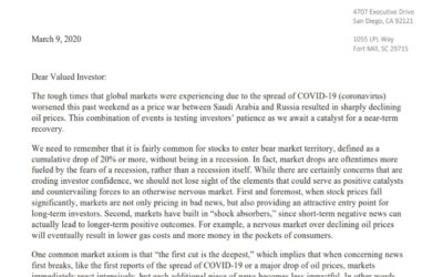 Client Letter | COVID-19 and Oil Prices | March 9, 2020